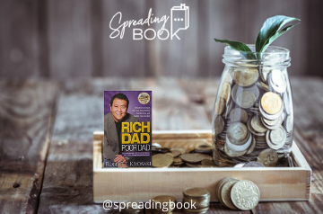 Rich Dad Poor Dad by Robert T. Kiyosaki_SpreadingBook