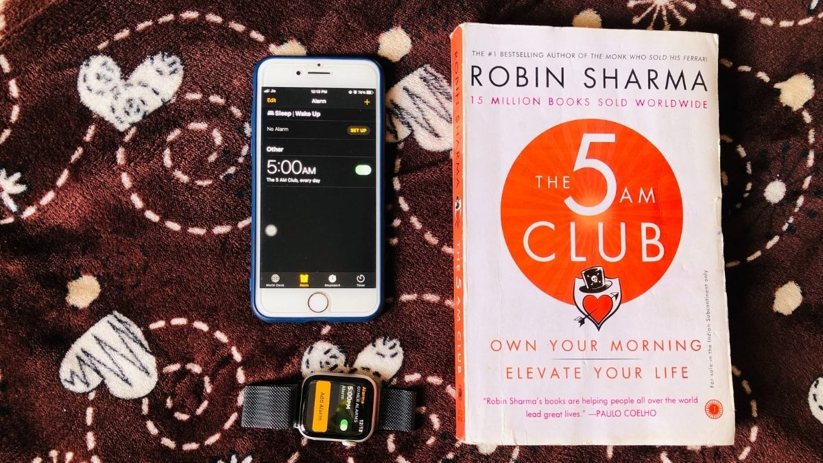 The 5 AM Club by Robin Sharma_SpreadingBook